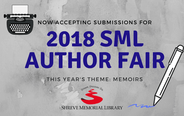 Submit to attend the 2018 Author Fair