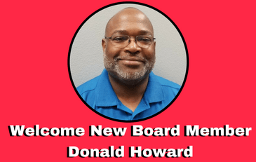 Welcome new board member Donald Howard