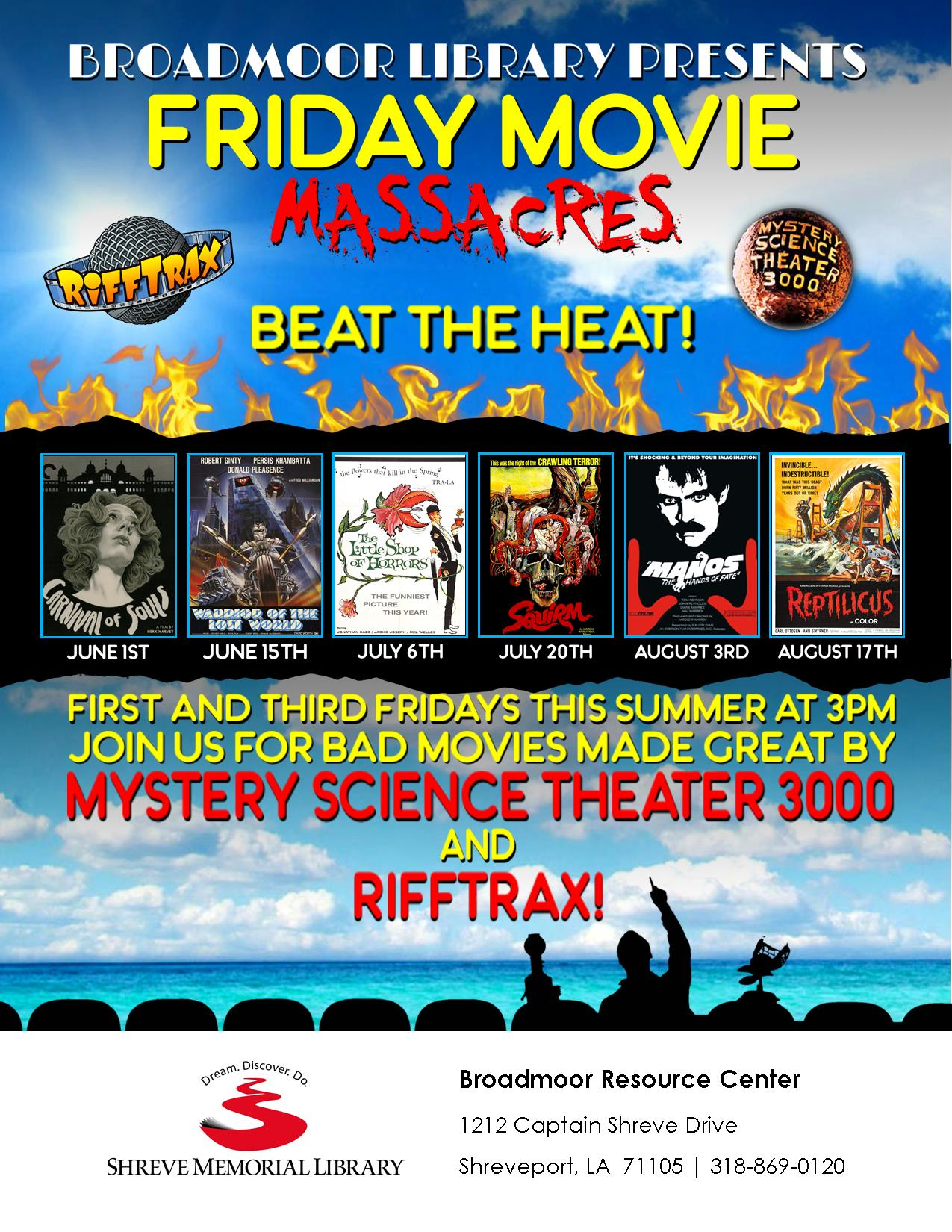 06-01--Friday Movie Massacres--Flier