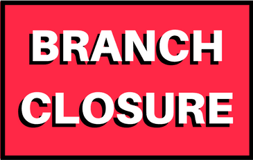 Hamilton/South Caddo Branch to close on June 1