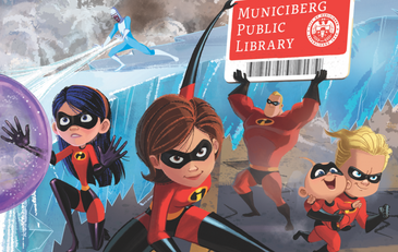 Be incredible - sign up for a library card!