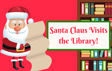 Santa Visits the Library