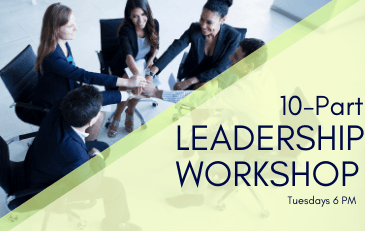 Leadership Workshops Tuesday