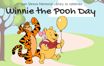 Come and celebrate Winnie the Pooh Day