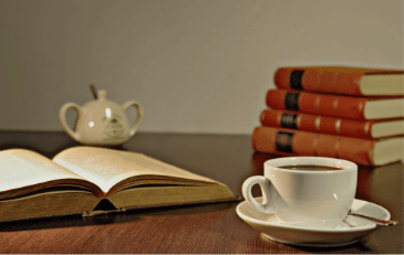 Join us for programs that pair coffee and books