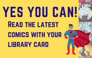 Read the latest comics with your library card