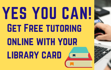 Get free tutoring with your library card