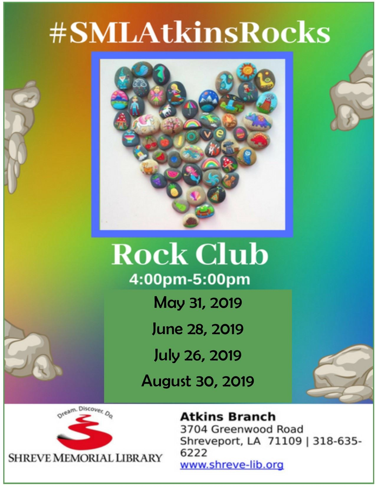 Rock ClubMay - August2019