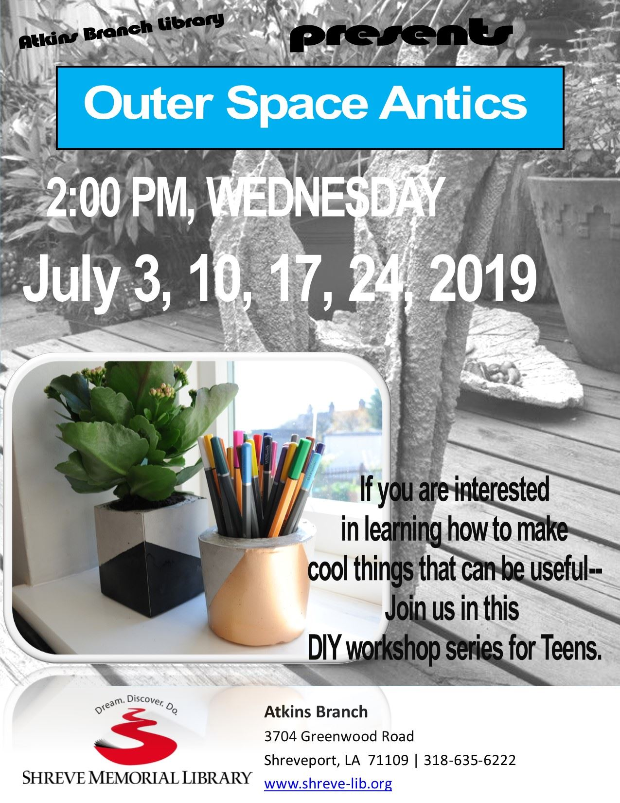 Flyer Atkins Teens DIY Series SRP July2019