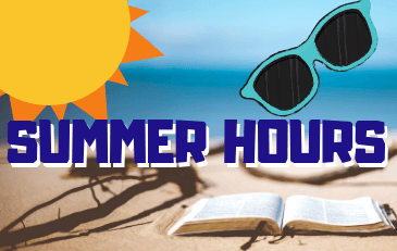 Summer Hours start May 28