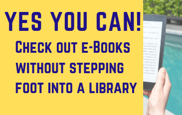 Yes You Can - Borrow E-Books