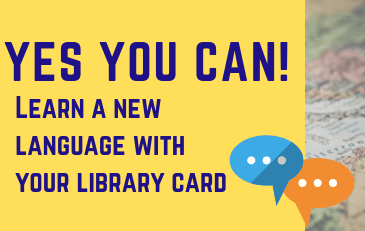 Yes You Can - Learn a New Language