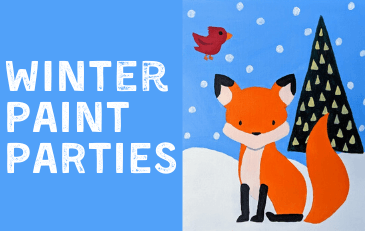 Winter Paint Parties