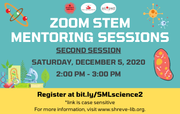 SML & Students to Scientists Present Biology STEM Session Dec. 5