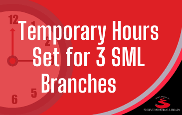 Temporary Hours Set for 3 SML Branches