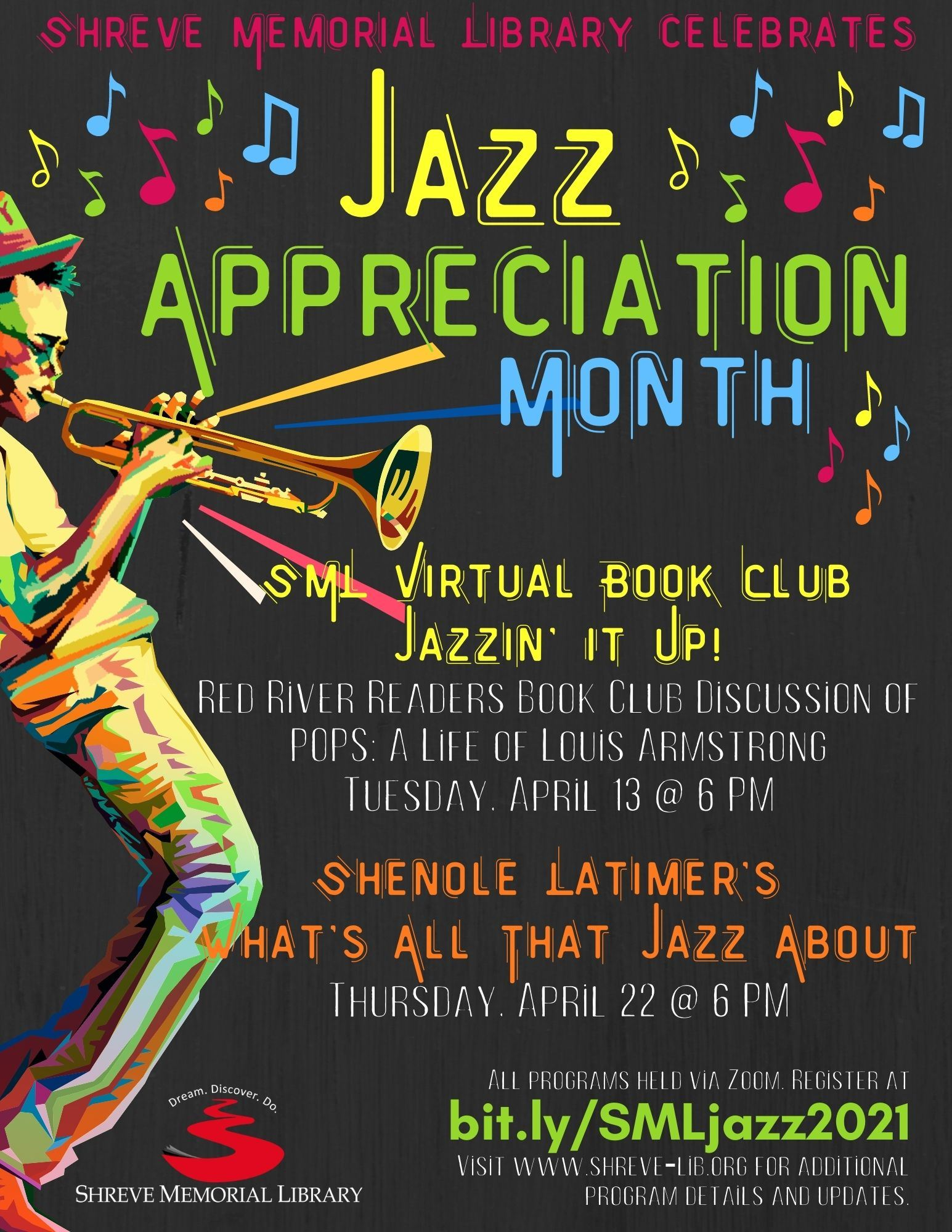 Jazz Appreciation Month Flyer