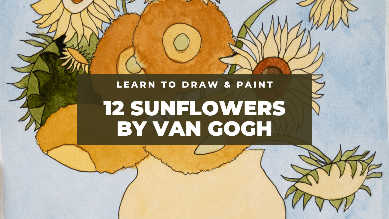 12 Sunflowers by Van Gogh YT thumb Opens in new window