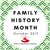 Family History Month