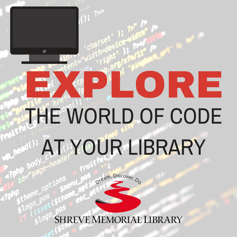 Explore coding at the library