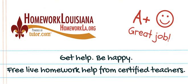 Louisiana homework help online